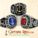 captainsring.com - Engineering Ring - Class ring - Sterling silver