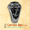 captainsring.com - CAPTAIN / Engineering Ring - Class ring - SILVER