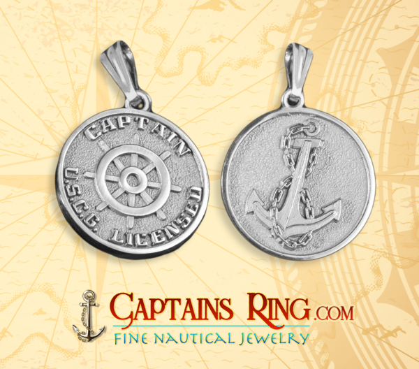 Mariners Medallion - Sterling Silver - Licensed