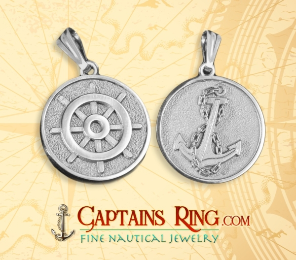 Mariners Medallion - Sterling Silver - Unlicensed